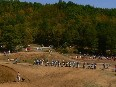 The motocross at Izvoranu
